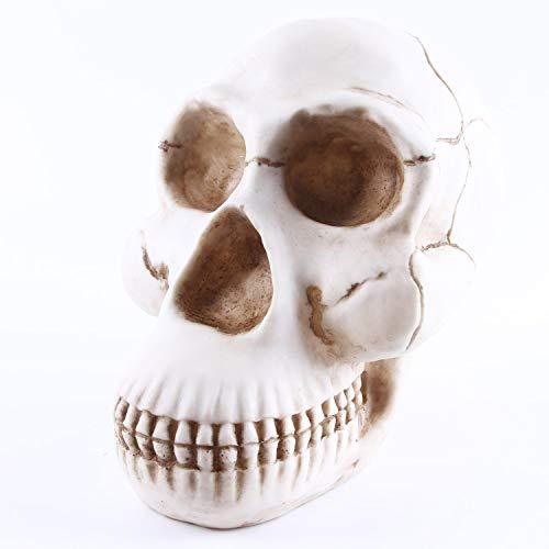 Tehok Halloween Tier Skelett Gorilla-Schädel Halloween Party Dekoration Prop - Ideal Halloween Kinder