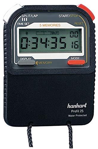 Power&Handel HANHART Stoppuhr Profil 25, 1/100 Sek., digital