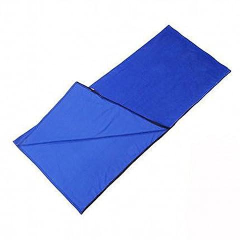 Sac de Couchage en Molleton Sac de Couchage Pour Camping D'Hiver Sac de Couchage Intérieur Sacs de Couchage Sale Sacs de Couchage D'Été,Bleu