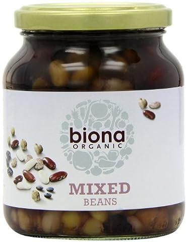 Biona Organic Mixed Beans 350 g (Pack of 6)