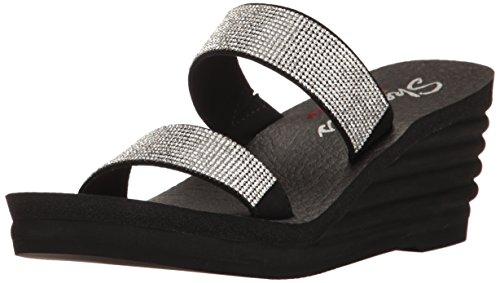 Sandali e infradito per le donne, colore Nero , marca SKECHERS, modello Sandali E Infradito Per Le Donne SKECHERS 38698S Nero Noir