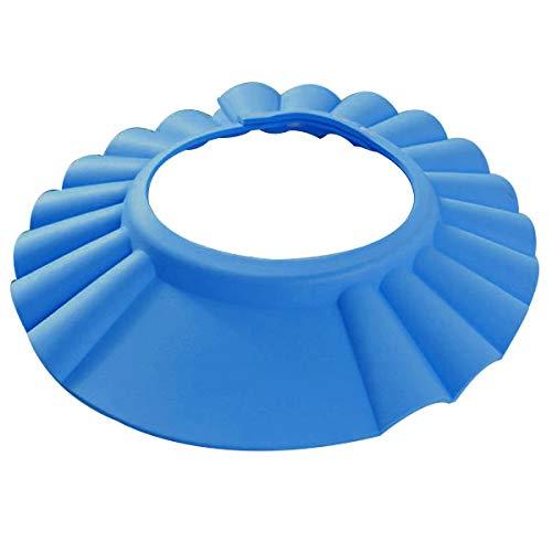Yardwe Kinder Duschhaube Einstellbare ultraleichte weiche Wasserdichte Baby Kinder Dusche Shampoo Cap Hut Protector -