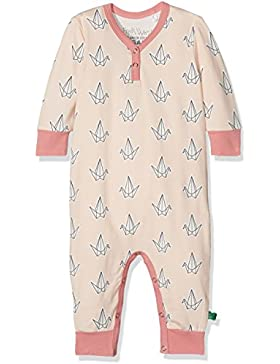 Fred's World by Green Cotton Baby-Mädchen Body Bird Bodysuit