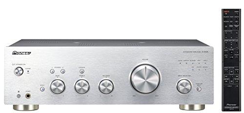 Pioneer A-50DA-S Stereo-Verstärker/Wandler (Aluminium-Front, 2X 90 Watt, USB D/A Wandler, Speaker A/B-Schaltung, Loudness Funktion) Silber