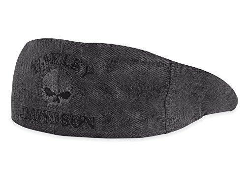 Harley-Davidson Ivy-Mütze Skull 99471-10VM Herren Hat, Schwarz, M (Davidson Harley Baseball-cap Von)