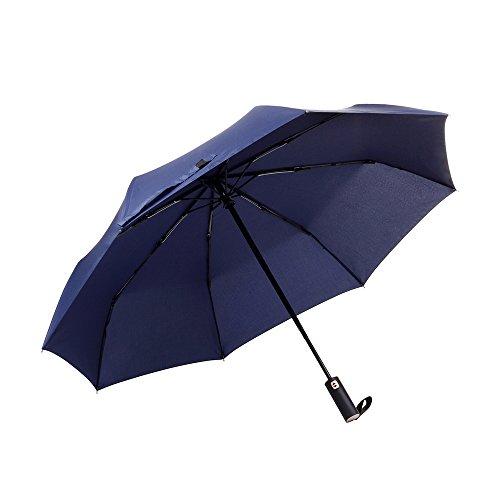 Veperain Paraguas-Paraguas Compacto Plegable, Resistente al Viento, co