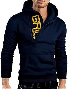 [Patrocinado]Sudaderas hombre con capucha baratas, Amlaiworld Hombres chaqueta con capucha ropa de abrigo