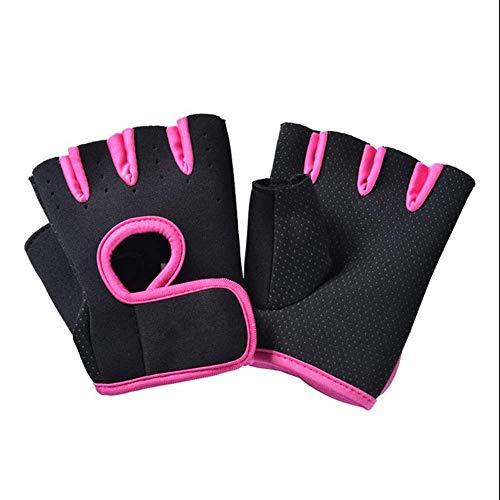 Gloves Women Es Menes Fitness Workout Fitness-Fitness-Studio Handschuhe Training Bergsteiger Handschuhe,Pink,M Pink Womens Handschuh