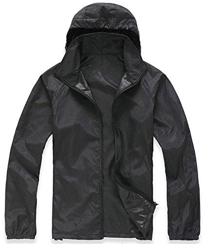 Mochoose-Mujer-Sper-Ligera-Impermeable-Chaqueta-con-Capucha-al-Aire-Libre-Seco-Rpido-Cortavientos-Impermeable-UV-Proteger-el-Escudo-de-la-PielNegroS