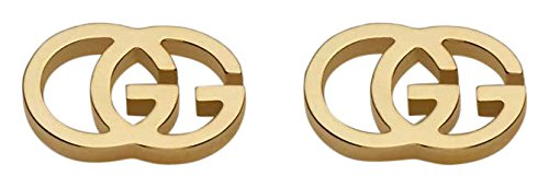 Gucci Damen-Ohrstecker RUNNING 750 Gelbgold - YBD09407400200U