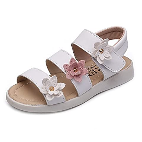 Grosse Chaussure - YUHUAWYH Filles Des sandales Fleurs Chaussures Peu
