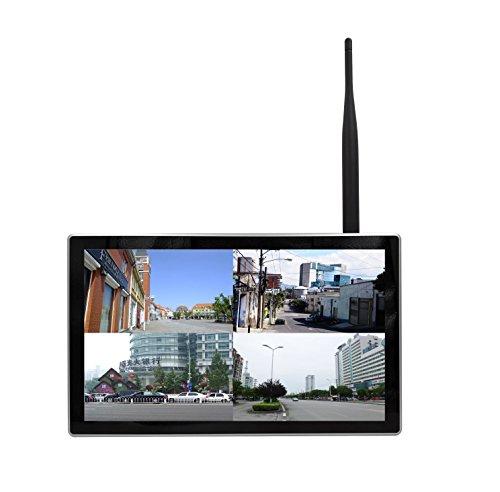 'Sibo® Aktualisiert 4Kanal 960P 1.3Megapixel Wireless 4IR Night Vision IP-Kameras, 10.2LED Monitor 1080P Monitor WiFi Desktop NVR System Mobile/PC/Tablet Fernzugriff sb-wifiled04-pl96 Led Night Vision
