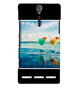 EagleHawk Designer 3D Printed Back Cover for Sony Xperia S - D593 :: Perfect Fit Designer Hard Case