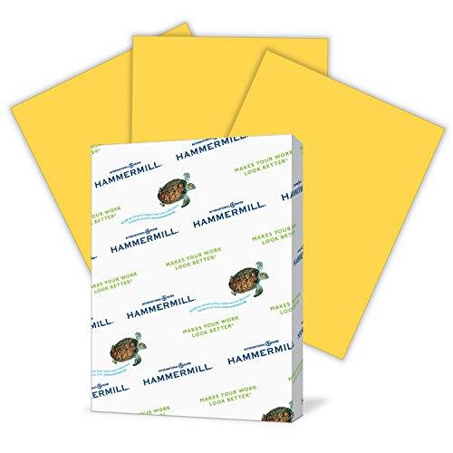 Hammermill Farbiges Papier Brief 500 Sheets Goldenrod (Hammermill-copy Papier)
