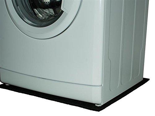 Antivibrationsmatte für Waschmaschinen und Trockner 0,60m x 0,60m Waschmaschinen Dämpfer