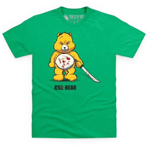 Kill Bear T-Shirt, Herren Keltisch-Grn