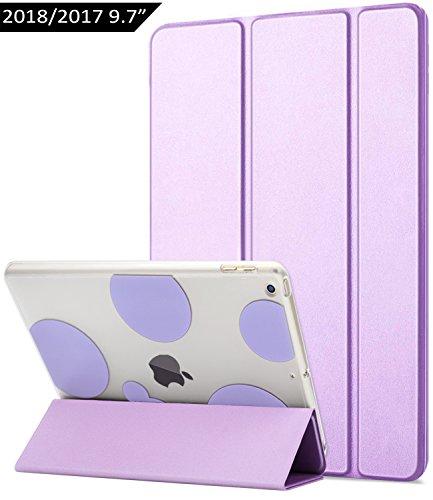 Dailylux iPad 2017 Hülle, iPad 2018 Hülle, Bubble Purple, Apple New iPad 9.7 inch 2017 2018
