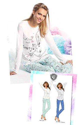 looney-tunes-ensemble-de-pyjama-fille-blanc-blanc