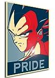 "Poster Dragon Ball ""Propaganda"" Vegeta - A3 (42x30 cm)"
