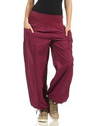 Amazon.it  pantaloni larghi - Pantaloni   Donna  Abbigliamento 01b762fd6477