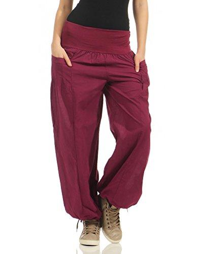 Zarmexx Damas Bloomers Harem Pantalones Verano Pantalones