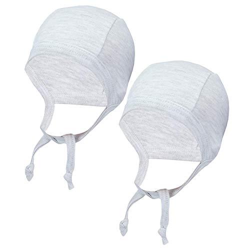 TupTam Unisex Baby Erstlingsm/ütze zum Binden 2er Pack