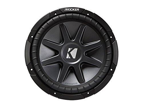 Kicker Subwoofer Comp-VR 12 CVR122 400 Watt 2 x 2 Ohm Comp-subwoofer