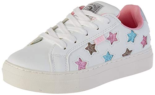 XTI 57051, Zapatillas para Niñas, Blanco Blanco Blanco, 35 EU
