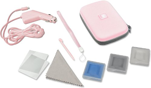 Nintendo DS Lite - Travel Pack 9in1, pink - Travel Ds Nintendo Kit