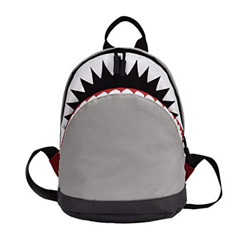 Bambino ragazza ragazzo bambini cartone animato squalo animale zaino bambino piccolo scuola borsa