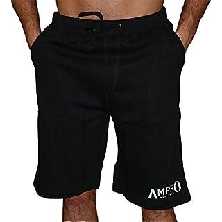 Ampro London Original Fleece Short - Black (Medium)