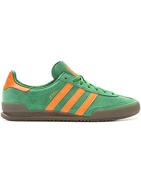 Adidas Jeans, green/solar orange/gum