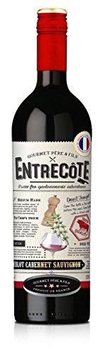 ENTRECOTE Wein Rotwein Merlot Cabernet Sauvignon 6 Flaschen Steak Wine