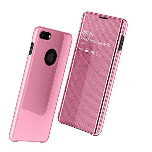 """Nadoli Mirror Hülle für iPhone 6S 4.7"""",Luxus Ultradünn Clear View Vorderseite und Hart Zurück Spiegel Schlank Flip Schutzhülle Etui für iPhone 6S/6 4.7"""""""