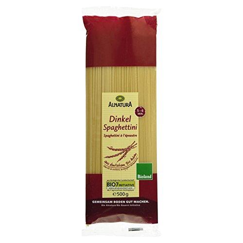 Preisvergleich Produktbild Alnatura Bio Dinkelspaghettini,  5er Pack (5 x 500 g)