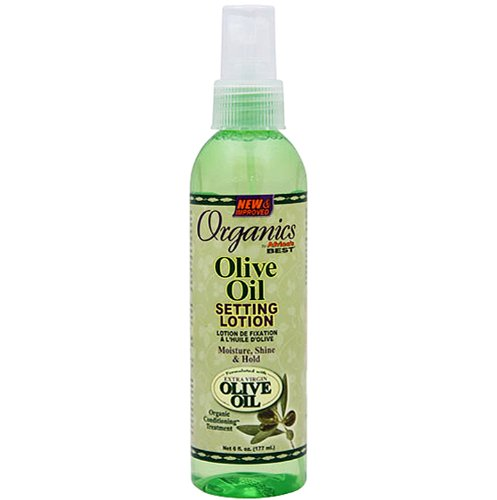 Africas Best Organics Olive Oil Setting Lotion - Haarlotion