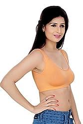 Pretty Girl Non Padded Mastectomy Bra(Orange, Free Size)