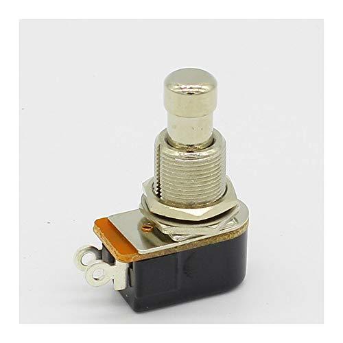 SPST Taster für elektrische Gitarre, kurzzeitig, weiche Taste, Stomp Fußpedal, Schalter für elektrische Gitarre, Ausschalter, Momentary ON -