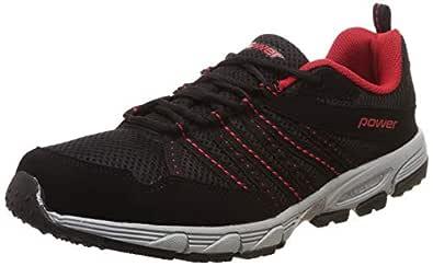Power Men's Keith Black Running Shoes-7 UK/India (41EU) (8396656)