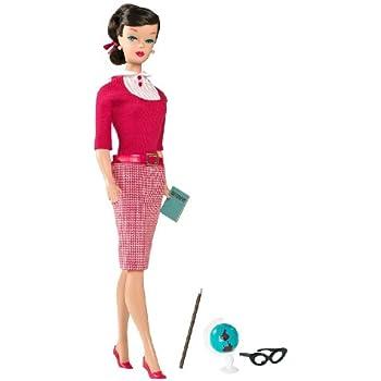 Barbie Collector - R4471 - Poupée - Barbie Vintage - Professeur