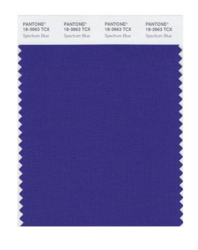 PANTONE SMART 18-3963X Color Swatch Card, Spectrum Blue