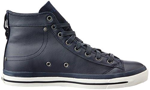 Diesel MAGNETE EXPOSURE I - sneaker, Baskets hautes homme Bleu (T6065 - Blue Nights Pr052)