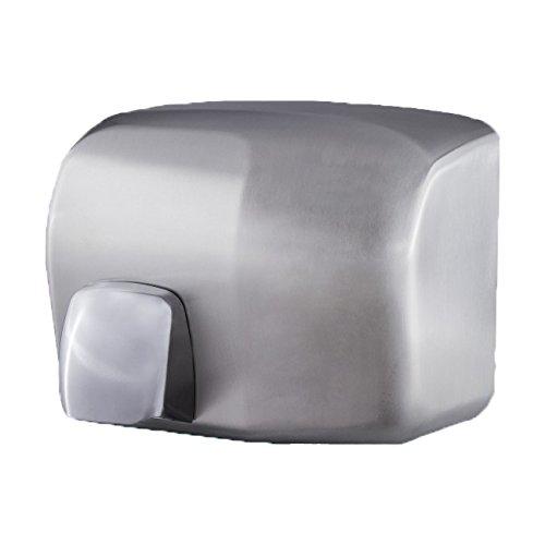Secamanos-ptico-Pared-Aluminio-con-tobera-Acabado-satinado-Potencia-2000w