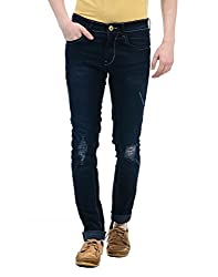 Monte Carlo Mens Straight Fit Jeans (2180872012DN-2-32_Dark Blue)