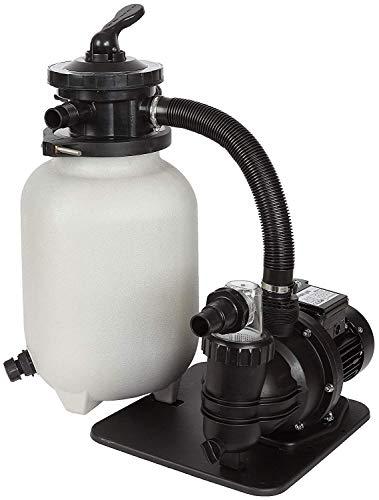 well2wellness® Pool Filteranlage Sandfilteranlage XS5 - speziell für kleinere Pools + Aufstellbecken