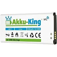 Akku-King Akku ersetzt Samsung EB-BN915BBC, EB-BN915BBE - Li-Ion 3150mAh - mit NFC - für Galaxy Note Edge, Edge 4G, F-N915F, SM-N9150