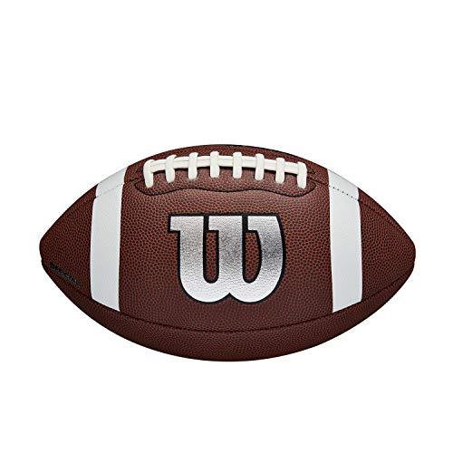 Wilson WTF1729XB Balón de Fútbol Americano, Nfl Legend, Uso Recreativo, Tamaño Oficial, Material...