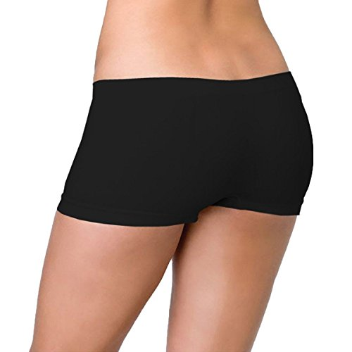 6er Pack Libella Damen Panties Seamless LDU3908 Schwarz