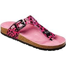 Esmara® Pantoletten sandalen modisch sommer look Damen Zehentrener Neu