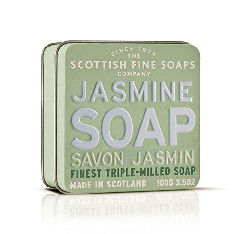 Scottish Fine Soaps Jasmine Floral Soap Tin  Soap 100g